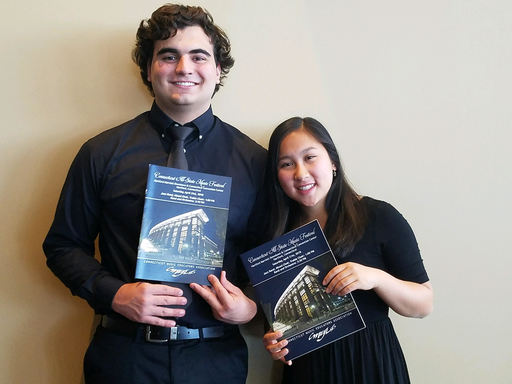 Jessica Garcia '19 and Giorgo Caripidis Soto '19 Perform in All-State Honors Choir