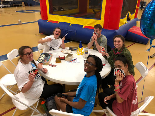"Students Participate in a Twelve-Hour Long ""Mini-THON"""