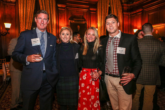 Annual Christmas Party Celebrated in New York